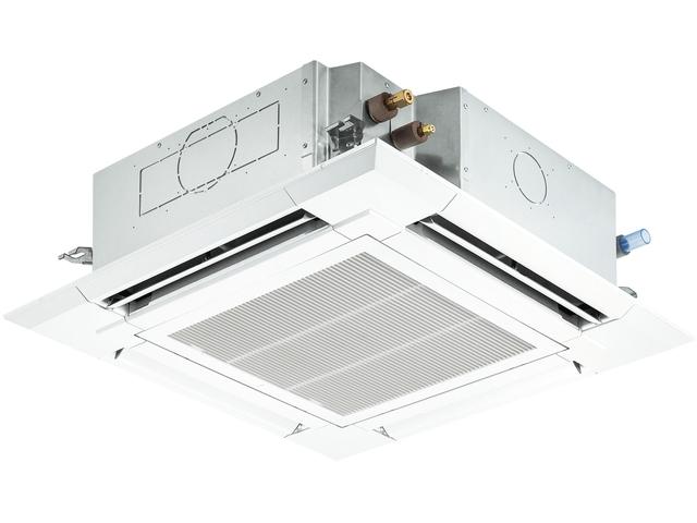 三菱 ビル用マルチエアコン 天井カセット4方向形 スタンダードタイプ Plfy P40emg3 リモコン付