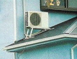 画像1: 室外機 設置工事【屋根置き】